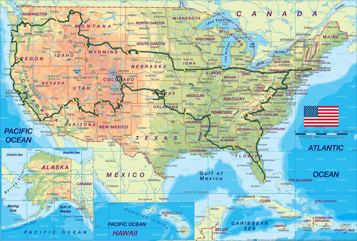 EagleMoonnet Home Page - Hoover dam on us map